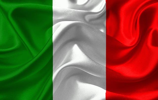 Italie vlajka 640